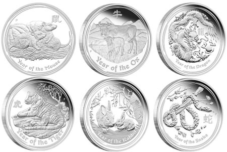 Perth Mint Mintage Policy Lunar Series Ii 2 Oz Silver