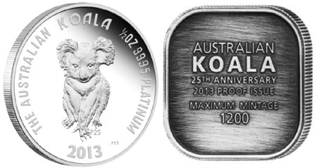 25th Anniversary Platinum Koala