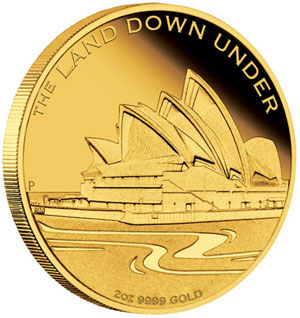 Sydeny Opera House Gold Coin