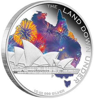 Sydeny Opera House Silver coin