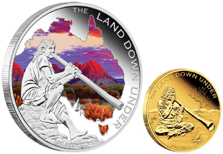 Didgeridoo Gold and Silver Coins