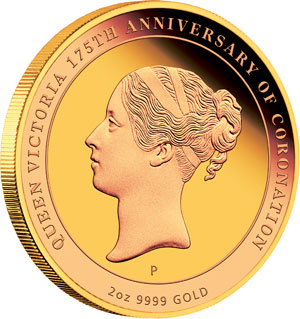 Queen Victoria Coronation Gold Coin