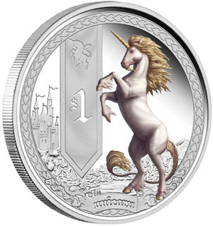Unicorn Silver Coin