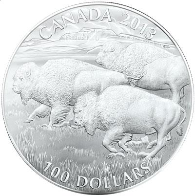 Buffalo $100 Silver Coin