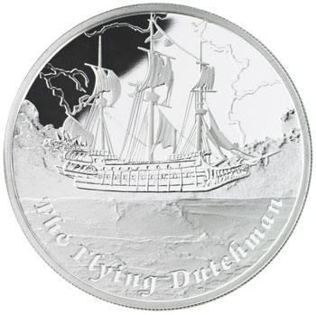 Flying Dutchman Silver Coin