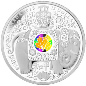 Maple of Peace Hologram Coin