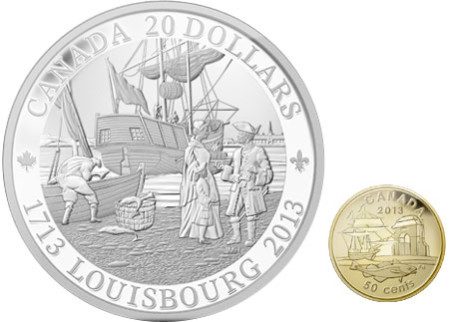 Louisbourg Gold and Silver Coins