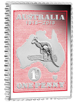 Kangaroo Stamp Coin