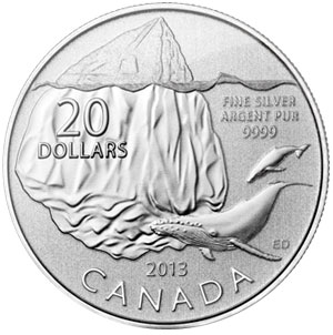 $20 for $20 Silver Coin Iceberg