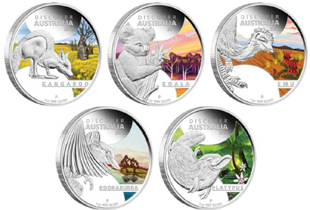 Discover Australia Silver Proof Coins