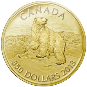 Polar Bear Gold Coin
