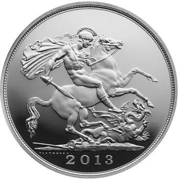 Royal Birth 5 Pound Silver Coin