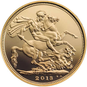 Royal Birth Gold Sovereign