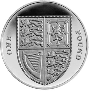 Silver One Pound Coin