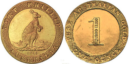 Original Port Phillip Gold Medallion
