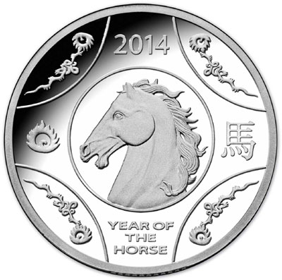 Year of the Horse Silver Coin