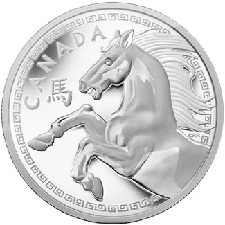 Year of the Horse Kilo Coin