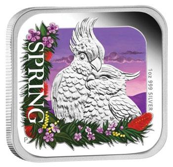 Australian Seasons Spring Silver Coin