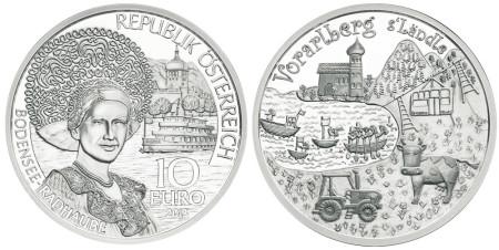Vorarlberg Silver Coin
