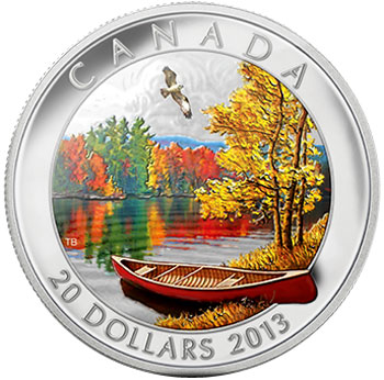 Autumn Bliss Silver Coin