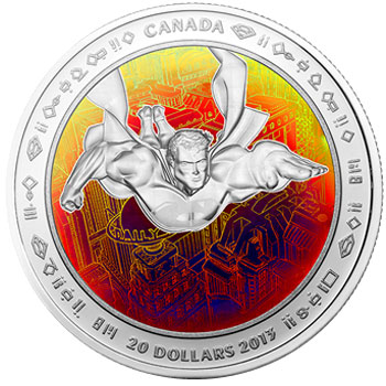 Superman Hologram Silver Coin