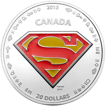 S Shield Silver Coin