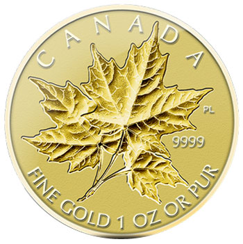 Incuse Fractional Gold Maple Leaf Set