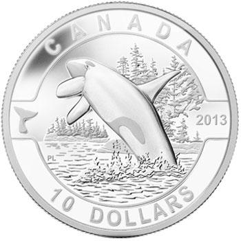 Orca 1/2 oz Silver coin