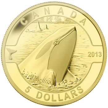 2013 Orca Gold Coin