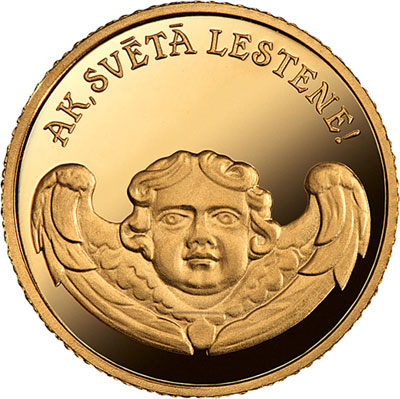 2013 Lestene Church Gold Coin