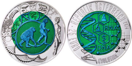 Evolution Silver and Niobium Coin