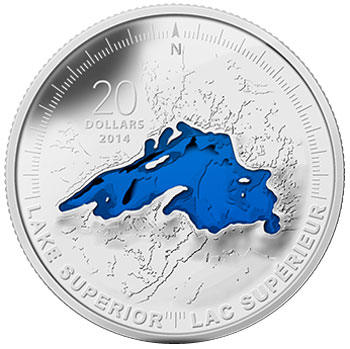 Lake Superior Silver Coin
