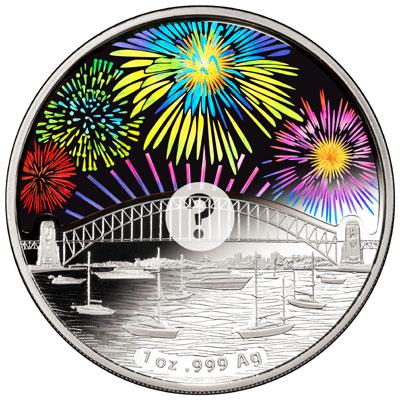 Sydney Fireworks Coin
