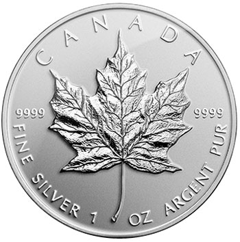 2014 Silver Maple Coin
