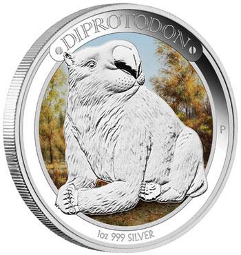 diprotodon Coin
