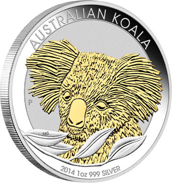 2014 Gilded Koala