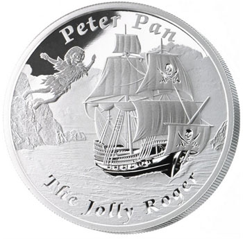 Jolly Roger Silver Coin