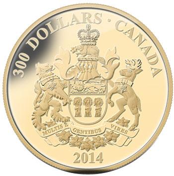 Saskatchewan 14 karat gold coin