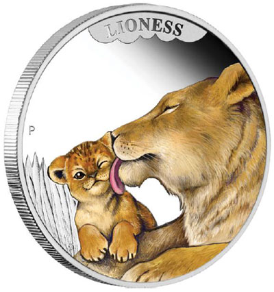 2014 Lioness Coin