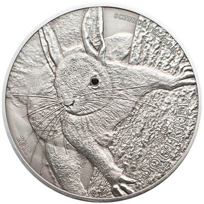 Red Squirrel Palau Coin