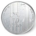 50 years of European space cooperation Silver Coin