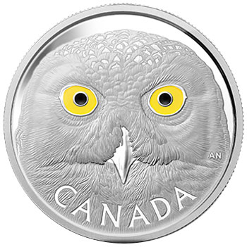 Snowy Owl Silver Kilogram Coin