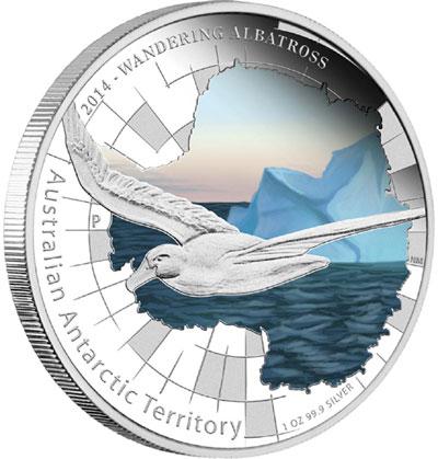 Wandering Albatross Silver Coin