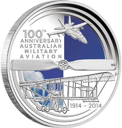 Australian Military Aviation Silver coin