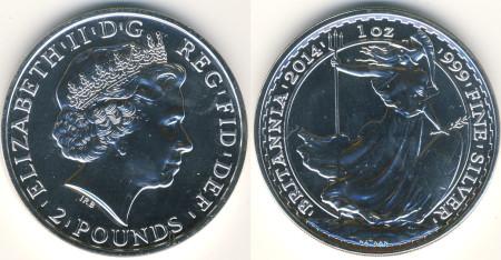 Silver Britannia Mule Error