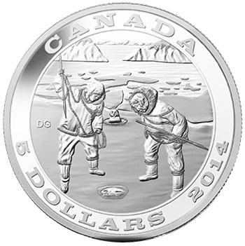 2014 Tradition of Hunting the Seal Silver Coin