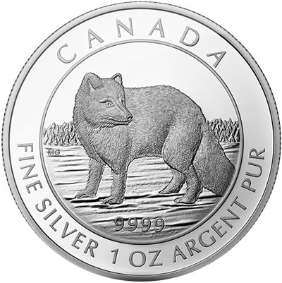 Arctic Fox Proof Coin