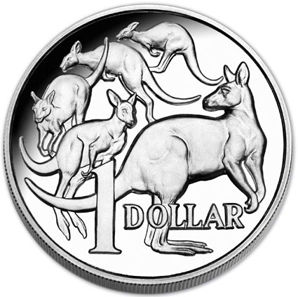 Mob of Roos High Relief Silver Coin