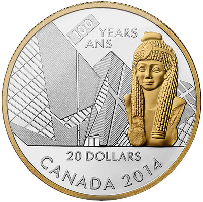 100th Anniversary of the Ontario Museum Silver Coin