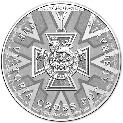 2014 Victoria Cross Silver Coin